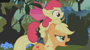 S01E09 Applejack niesie Apple Bloom