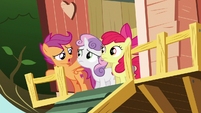 Scootaloo --I know someone who just might-- S6E19
