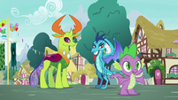 "Spike ""assuming they wouldn't get along"" S7E15"