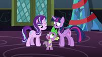 Spike --Oh, I love that one!-- S6E8