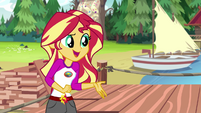 "Sunset Shimmer ""it started last night"" EG4"