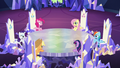 The Mane 6 meet in the castle S5E11.png
