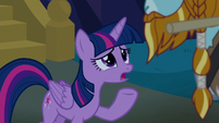 "Twilight ""if you're a statue, that's all lost"" S8E21"