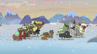 Yona and her family singing a yak song S8E16