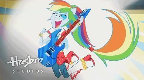 """""""Sorprendente Así Soy Yo"""" (Versión Extendida) - MLP Equestria Girls - Rainbow Rocks"""