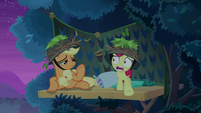 "Apple Bloom ""I think a trap went off!"" S9E10"