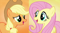 Applejack and Fluttershy sing -and we'll make- S5E3