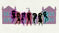 Black silhouette of the Mane Seven EGDS.png