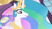 Celestia 'Good luck, my little ponies' S2E01