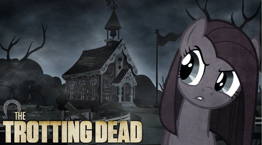 FANMADE Pinkie Pie The Trotting Dead
