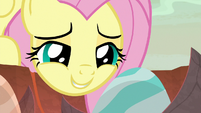 "Fluttershy ""come a long way to meet you"" S9E9"