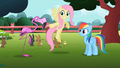 Fluttershy 'hot pink flamingo' S2E07.png