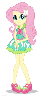 Friendship Games Fluttershy School Spirit artwork