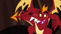 Garble gets loose from the spikes S6E5.png