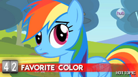 """Hot Minute with Rainbow Dash """"is rainbow a color?"""""""
