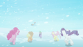 Main ponies escape to Crystal Empire S3E1.png