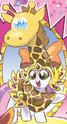Micro-Series issue 7 Sweetie Belle giraffe costume