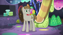 Mudbriar in Pinkie Pie's party cave S8E3
