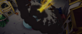 Party cannon blasts at the sky MLPTM