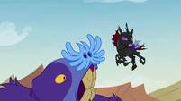 Pharynx tells Thorax to get out of here S7E17