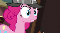 "Pinkie Pie ""plopping into place"" S7E23"