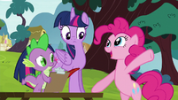 Pinkie Pie --we galloped away-- S5E22