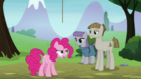 Pinkie Pie feeling ashamed of herself S8E3