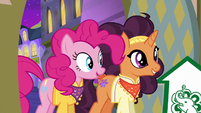 Pinkie and Saffron return to The Tasty Treat S6E12