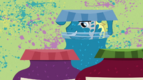 Pony strangely obsessed with tubs of jelly closeup S2E17