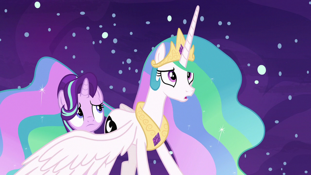 "File:Princess Celestia ""that's not true!"" S7E10.png"
