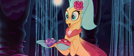Princess Skystar having a realization MLPTM