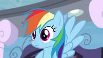Rainbow Dash's confidence falters S4E21