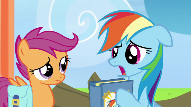 """File:Rainbow Dash """"I thought it was utterly mortifying"""" S7E7.png"""