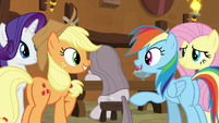 "Rainbow Dash ""easier than I thought"" S8E18"