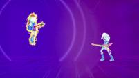 Rainbow Dash rises off the floor EG2