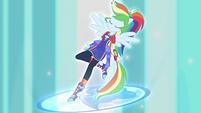 Rainbow Dash transformation complete EGFF