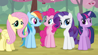 Rarity & Rainbow Dash happy S2E14