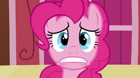 Remaining Pinkie clone's face watching paint S3E3