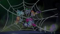 S05E21 Mane 5 i Spike na pajęczynie