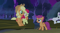 Scootaloo 'time for bed yet, is it-' S3E06
