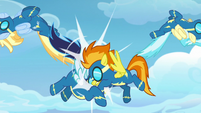 Soarin and Spitfire crash into each other S9E26