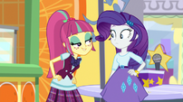 Sour Sweet bragging to Rarity EGS1
