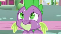 Spike nervously listens to Thorax S7E15