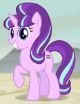 Starlight Glimmer with equal cutie mark ID S5E01