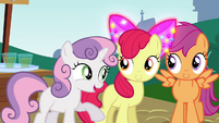 Sweetie Belle -look who's inviting who- S4E15