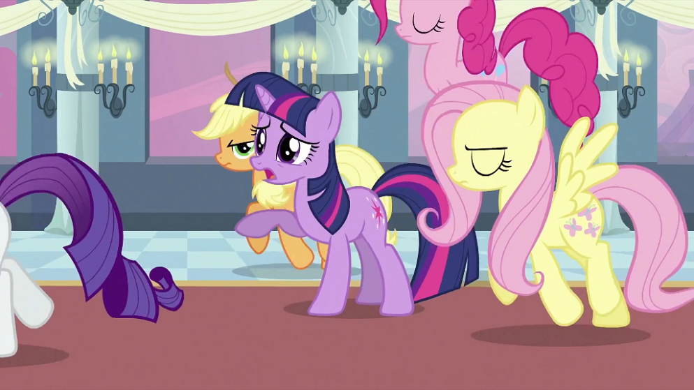 Mlp Canterlot Wedding 590 | Image Twilight S Friends Leaving Twilight S2e25 Png My Little