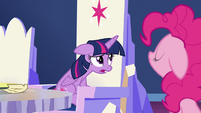 Twilight Sparkle sighing S7E11