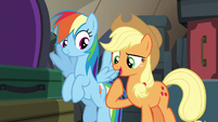 "Applejack ""we're gonna take your place"" S6E18"