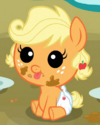 Applejack infant ID S3E08