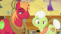 Big Mac just looks at Granny S5E21